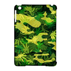 Marijuana Camouflage Cannabis Drug Apple Ipad Mini Hardshell Case (compatible With Smart Cover)