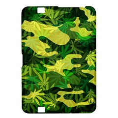 Marijuana Camouflage Cannabis Drug Kindle Fire Hd 8 9