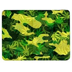 Marijuana Camouflage Cannabis Drug Samsung Galaxy Tab 7  P1000 Flip Case