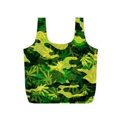 Marijuana Camouflage Cannabis Drug Full Print Recycle Bags (s)