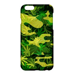 Marijuana Camouflage Cannabis Drug Apple Iphone 6 Plus/6s Plus Hardshell Case