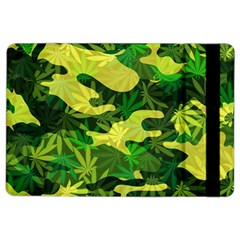 Marijuana Camouflage Cannabis Drug Ipad Air 2 Flip