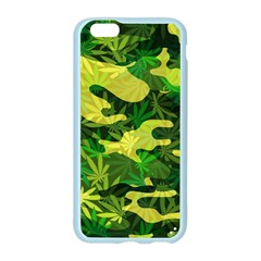 Marijuana Camouflage Cannabis Drug Apple Seamless iPhone 6/6S Case (Color)