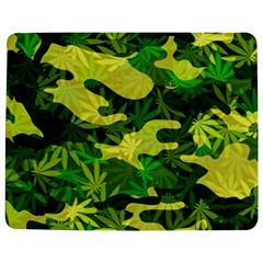 Marijuana Camouflage Cannabis Drug Jigsaw Puzzle Photo Stand (rectangular)