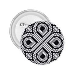 Pattern Tile Seamless Design 2.25  Buttons