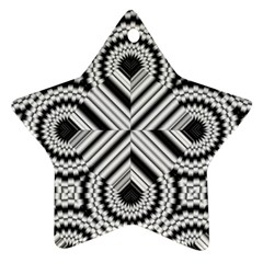Pattern Tile Seamless Design Star Ornament (Two Sides)