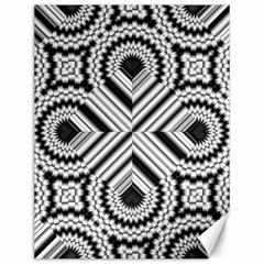 Pattern Tile Seamless Design Canvas 12  x 16