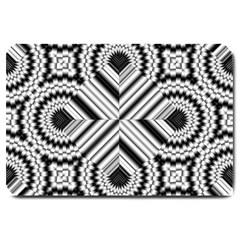 Pattern Tile Seamless Design Large Doormat