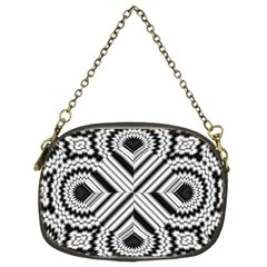 Pattern Tile Seamless Design Chain Purses (Two Sides)