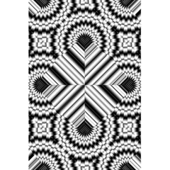 Pattern Tile Seamless Design 5.5  x 8.5  Notebooks