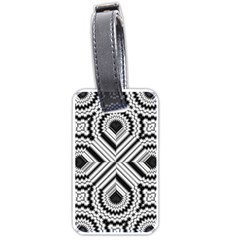 Pattern Tile Seamless Design Luggage Tags (One Side)