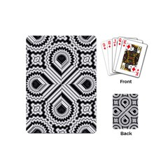Pattern Tile Seamless Design Playing Cards (mini)