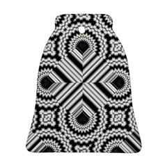 Pattern Tile Seamless Design Bell Ornament (Two Sides)