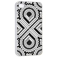 Pattern Tile Seamless Design Apple Iphone 4/4s Seamless Case (white)