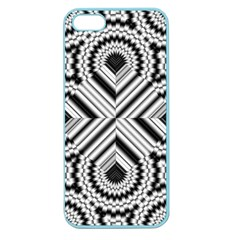 Pattern Tile Seamless Design Apple Seamless Iphone 5 Case (color)