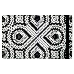 Pattern Tile Seamless Design Apple Ipad 3/4 Flip Case