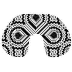 Pattern Tile Seamless Design Travel Neck Pillows