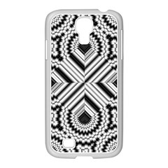 Pattern Tile Seamless Design Samsung Galaxy S4 I9500/ I9505 Case (white)