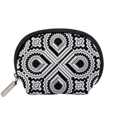Pattern Tile Seamless Design Accessory Pouches (small)