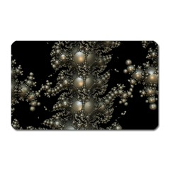 Fractal Math Geometry Backdrop Magnet (Rectangular)
