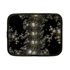 Fractal Math Geometry Backdrop Netbook Case (small)
