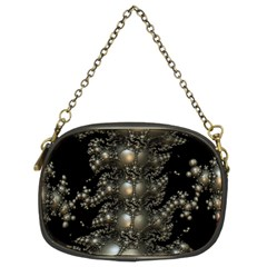 Fractal Math Geometry Backdrop Chain Purses (two Sides)