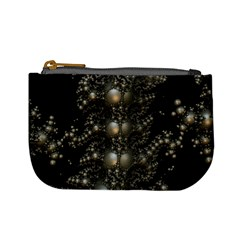 Fractal Math Geometry Backdrop Mini Coin Purses