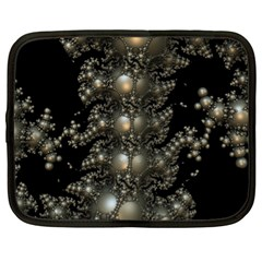 Fractal Math Geometry Backdrop Netbook Case (XL)