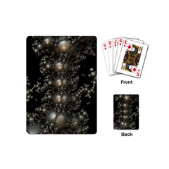 Fractal Math Geometry Backdrop Playing Cards (Mini)
