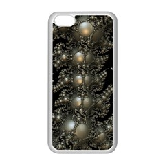 Fractal Math Geometry Backdrop Apple Iphone 5c Seamless Case (white)
