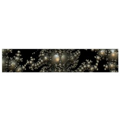 Fractal Math Geometry Backdrop Flano Scarf (Small)