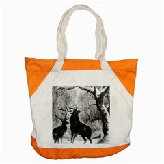 Stag Deer Forest Winter Christmas Accent Tote Bag