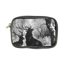 Stag Deer Forest Winter Christmas Coin Purse