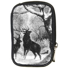 Stag Deer Forest Winter Christmas Compact Camera Cases
