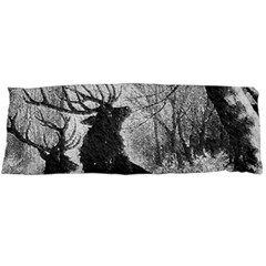 Stag Deer Forest Winter Christmas Body Pillow Case Dakimakura (Two Sides)