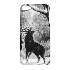 Stag Deer Forest Winter Christmas Apple Ipod Touch 5 Hardshell Case