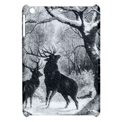 Stag Deer Forest Winter Christmas Apple Ipad Mini Hardshell Case
