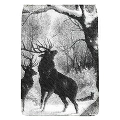 Stag Deer Forest Winter Christmas Flap Covers (s)