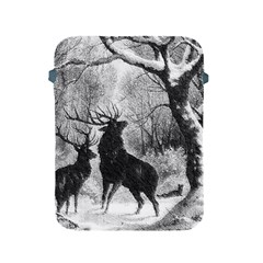 Stag Deer Forest Winter Christmas Apple Ipad 2/3/4 Protective Soft Cases