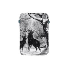 Stag Deer Forest Winter Christmas Apple Ipad Mini Protective Soft Cases