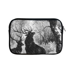Stag Deer Forest Winter Christmas Apple iPad Mini Zipper Cases
