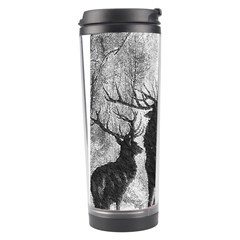 Stag Deer Forest Winter Christmas Travel Tumbler