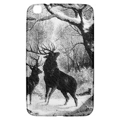 Stag Deer Forest Winter Christmas Samsung Galaxy Tab 3 (8 ) T3100 Hardshell Case