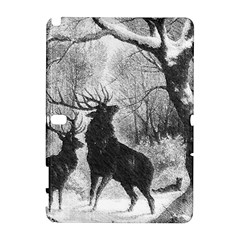 Stag Deer Forest Winter Christmas Galaxy Note 1