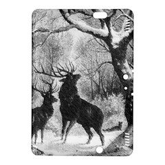 Stag Deer Forest Winter Christmas Kindle Fire Hdx 8 9  Hardshell Case