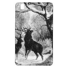 Stag Deer Forest Winter Christmas Samsung Galaxy Tab Pro 8 4 Hardshell Case