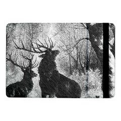 Stag Deer Forest Winter Christmas Samsung Galaxy Tab Pro 10 1  Flip Case