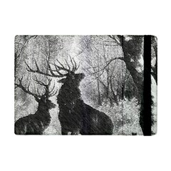 Stag Deer Forest Winter Christmas Ipad Mini 2 Flip Cases