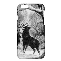 Stag Deer Forest Winter Christmas Apple iPhone 6 Plus/6S Plus Hardshell Case