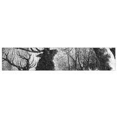 Stag Deer Forest Winter Christmas Flano Scarf (Small)
